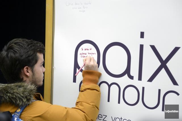 L'UQAC a mis à la disposition des étudiants... (Photo Le Quotidien, Jeannot Lévesque)
