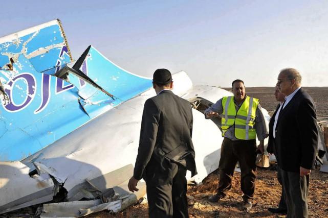 L'écrasement de l'avion russe en Égypte et les... (PHOTO ARCHIVES AP)