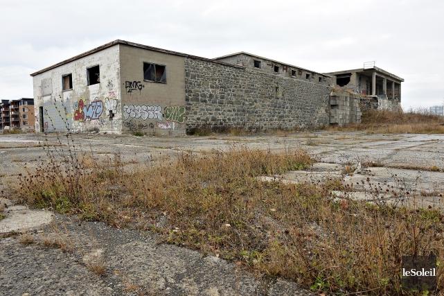 Les vestiges du fort Numéro-Trois de Lévis... (Le Soleil, Patrice Laroche)