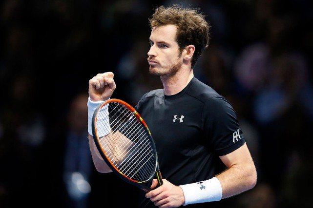 Andy Murray a facilement battu l'Espagnol David Ferrer, 6-4,... (AP, Kirsty Wigglesworth)
