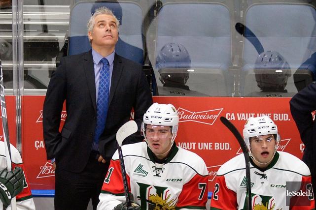 L'entraîneur-chef des Mooseheads de Halifax Dominique Ducharme sera... (Photothèque Le Soleil, Jean-Marie Villeneuve)