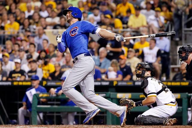 KrisBryant des Cubs de Chicago a été un... (AP, Gene J. Puskar)