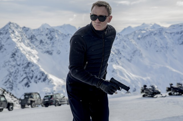 Spectre garde la tête du box-office nord-américain.... (Columbia / MGM / Sony Daniel Craig)