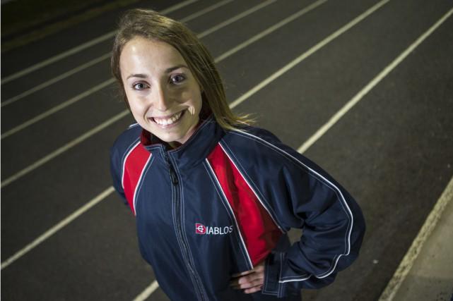 Kloé Gervais-Pépin a obtenu le meilleur résultat individuel... (Olivier Croteau)