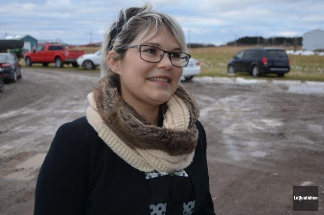 Michèle Lalancette, présidente du Centre régional des jeunes... (Photo Le Quotidien, Laura Lévesque)