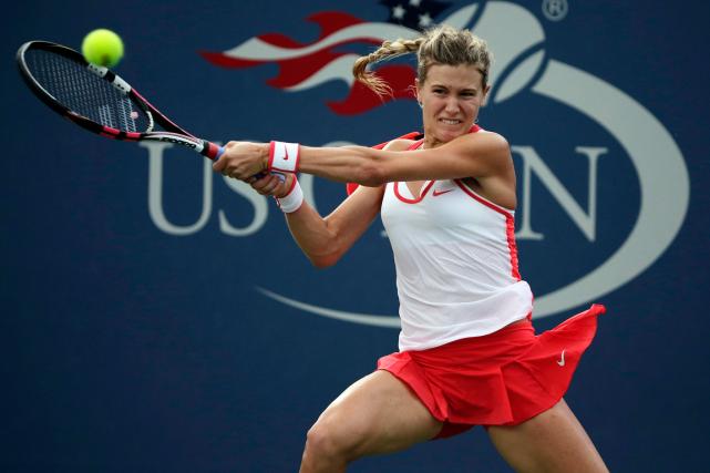 Eugenie Bouchard n'a pas disputé de match complet... (Photo Charles Krupa, AP)