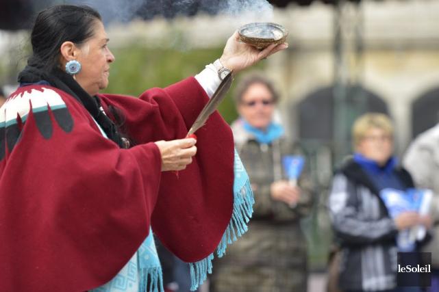 Femmes autochtones du Québec, l'Assemblée des Premières Nations... (Photothèque Le Soleil, Yan Doublet)