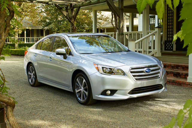 La Subaru Legacy... (Photo fournie par Subaru)