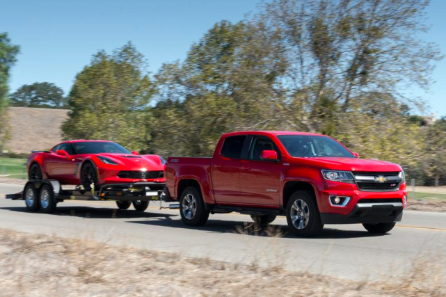 Avec son moteur diesel, le Colorado Duramax consomme... (Photo fournie par General Motors)