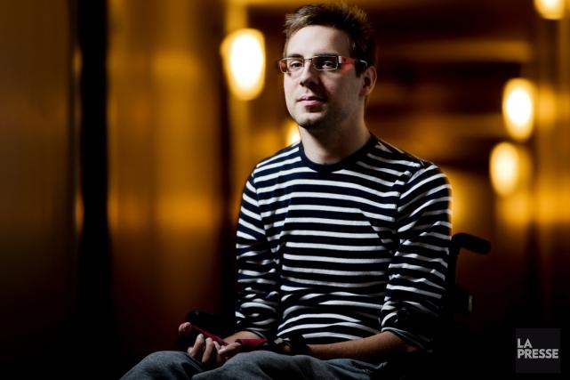 Maxime Girard ressent le besoin de parler de... (PHOTO OLIVIER JEAN, LA PRESSE)