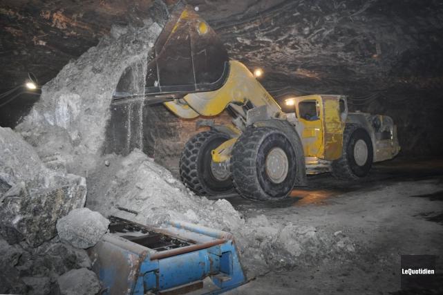 La baisse des investissements dans les projets miniers... ((Archives Le Quotidien))
