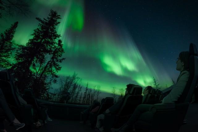 Aurorae, le nouveau spectacle du Planétarium de Montréal,... (PHOTO FOURNIE PAR EXPACE POUR LA VIE)