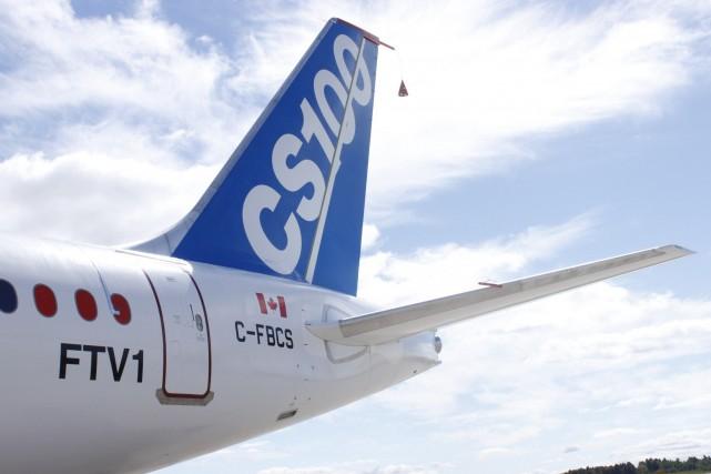Après avoir enfoncé la barre du dollar canadien la veille, l'action Bombardier... (PHOTO ARCHIVES AFP)
