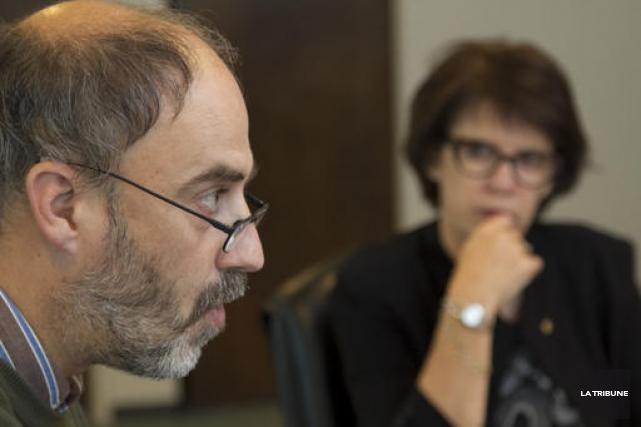 Jacques Beauvais, vice-recteur à la recherche, à l'innovation... (Imacom, René Marquis)