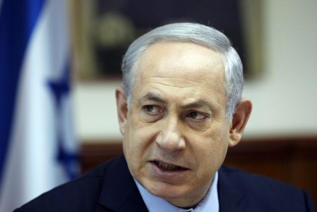 Le premier ministre israélien Benyamin Nétanyahou.... (PHOTO RONEN ZVULUN, AFP)