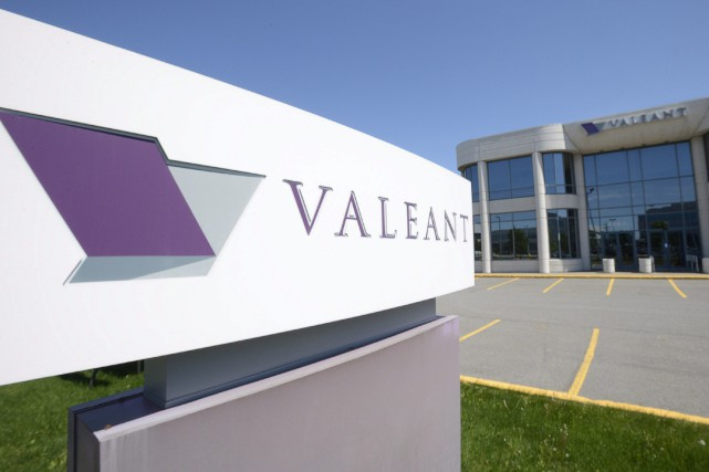 Le titre de Valeant a perdu près de... (Photo Ryan Remiorz, archives PC)