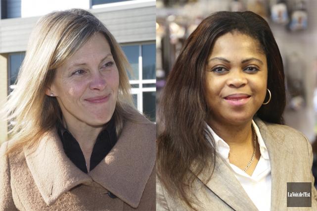 Suzanne Surette et Victoire Marie-France Collard sont deux... (photos La Voix de l'Est)