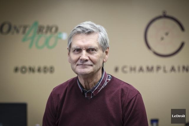 Le président du conseil d'administration du Village d'antan... (Patrick Woodbury, LeDroit)