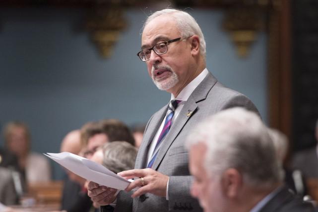 Le ministre québécois des Finances, Carlos Leitao... (Photo Jacques Boissinot, La Presse Canadienne)