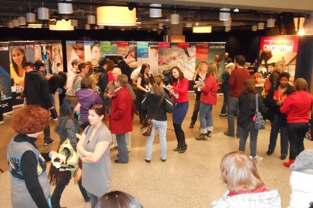 Les participants à la Journée portes ouvertes de... (Photo courtoisie)