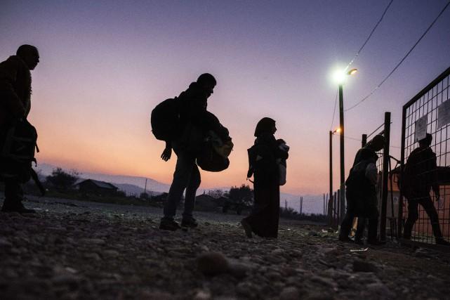 La pression s'accentue sur les troupes de Justin... (PHOTO DIMITAR DILKOFF, ARCHIVES AFP)