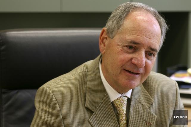 Le président de la CSD, Claude Beaulieu.... (Patrick Woodbury, Archives LeDroit)