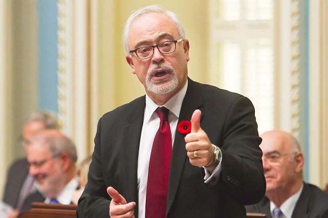 Le ministre des Finances du Québec, Carlos Leitao,présentera... (La Presse Canadienne, Clément Allard)