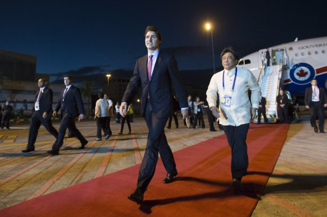 Le premier ministre du Canada, Justin Trudeau... (Photo Sean Kilpatrick, La Presse Canadienne)