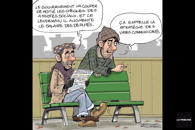 Hervé Philippe, La Tribune... (Hervé Philippe, La Tribune)