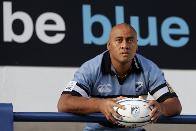 Jonah Lomu en 2005... (PHOTO ARCHIVES REUTERS)