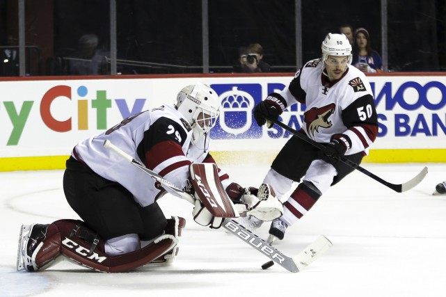 Le retour d'Antoine Vermette (#50), qui est allé... (Archives Associated Press)