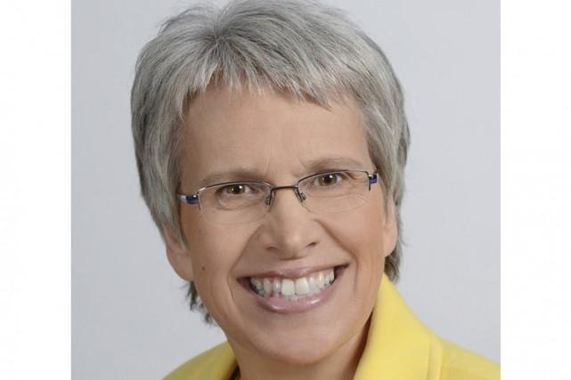La députée néo-démocrate de Saint-Hyacinthe-Bagot, Brigitte Sansoucy.... (Tirée de Facebook)