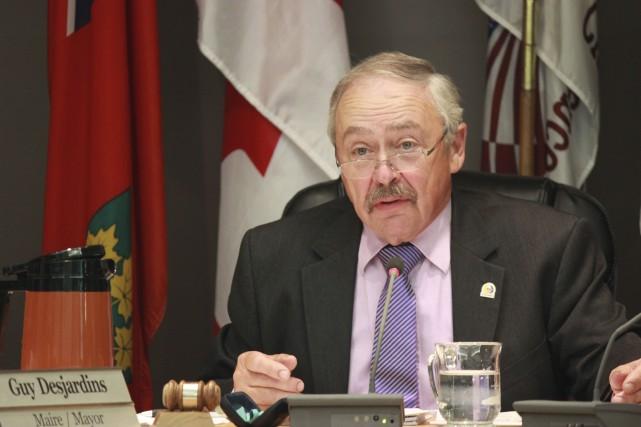 Selon le maire Guy Desjardins, Clarence-Rockland ne pourra... (Martin Brunette, LeDroit)