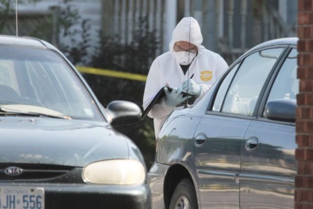 Le corps de Jennifer Stewart avait été retrouvé... (Simon Séguin-Bertrand, Archives LeDroit)