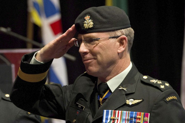 Stuart Beare, qui fut le commandant adjoint lorsque... (Archives La Presse Canadienne)