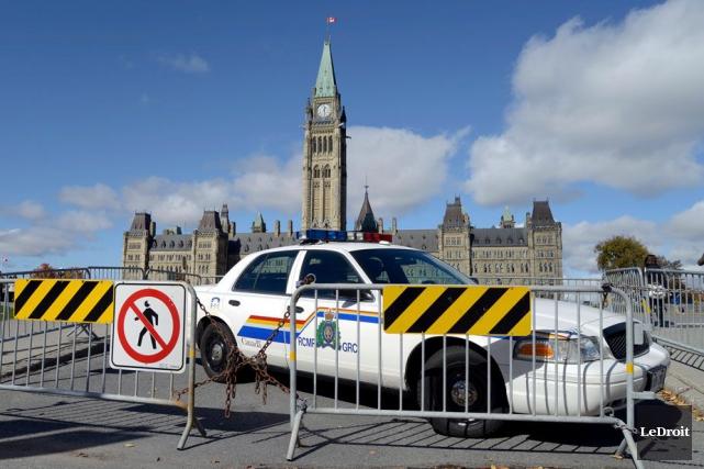 La Gendarmerie royale du Canada (GRC) a procédé à l'arrestation d'un individu... (Martin Roy, Archives LeDroit)