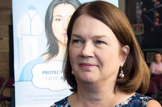 La nouvelle ministre fédérale de la Santé, Jane... (La Presse Canadienne, Fred Chartrand)