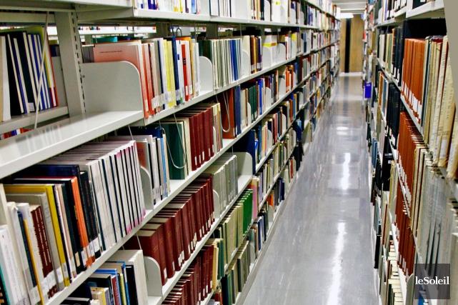 Les bibliothèques des 19 universités du Québec pourraient,... (Photothèque Le Soleil, Pascal Ratthé)