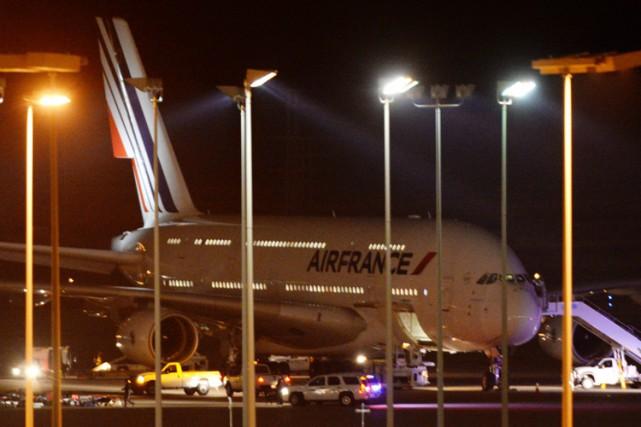 L'un des avions a été dérouté vers Salt... (PHOTO AP)