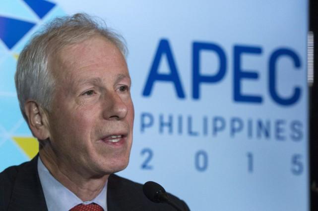Le ministre des Affaires étrangères Stéphane Dion a... (PHOTO SEAN KILPATRICK, LA PRESSE CANADIENNE)