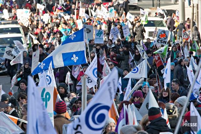 Au cours des deux derniers jours, des milliers... (PHOTO PATRICK SANFAÇON, ARCHIVES LA PRESSE)