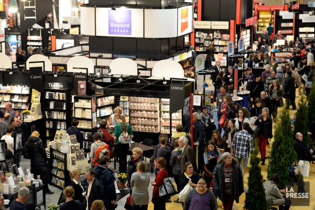 La 38e édition du Salon du livre de Montréal débute ce mercredi et... (Photo Bernard Brault, archives La Presse)