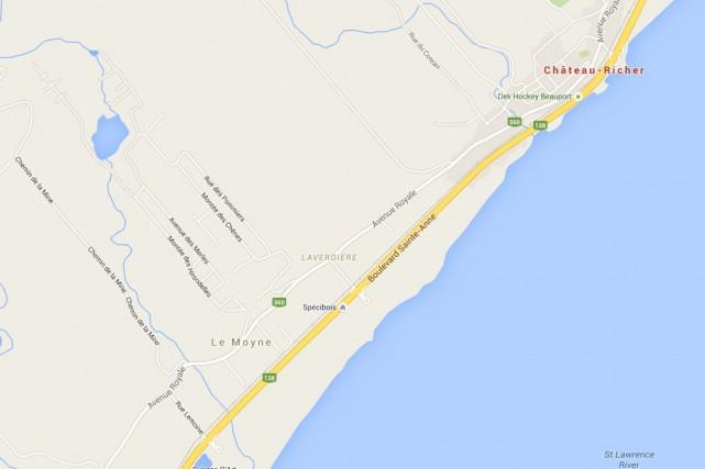 «Ce qui s'est produit n'est pas vraiment un... (Google Maps)