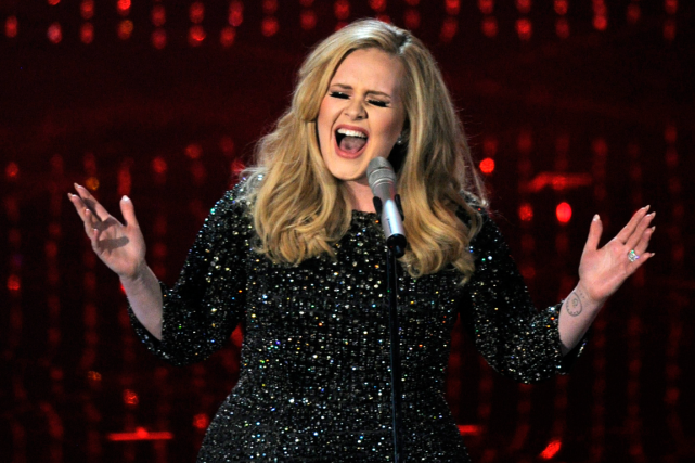 Adele... (Photo Chris Pizzello, archives AP)