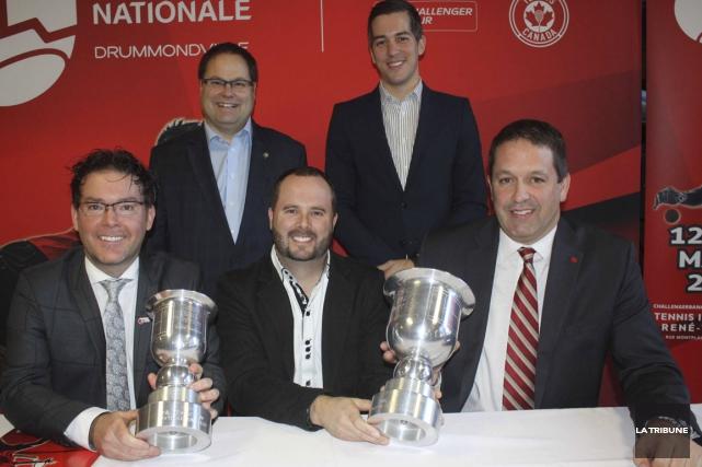 Le président du Challenger de Drummondville, Alain Caillé,... (La Tribune, Yanick Poisson)