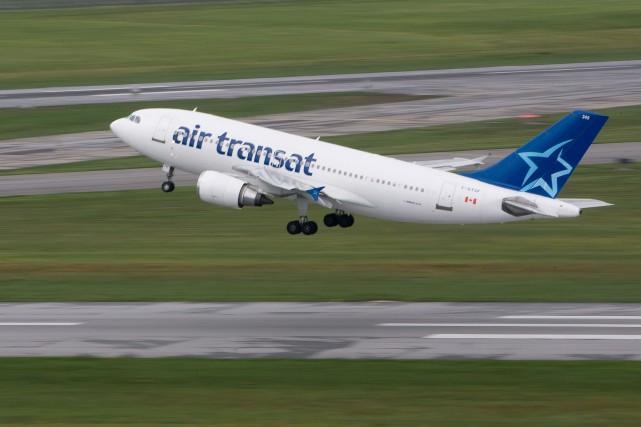 Le porte-parole d'Air Transat, Pierre Tessier, assure que... (Photo Patrick Sanfaçon, Archives La Presse)