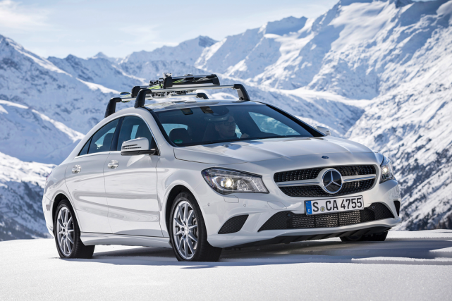 La Mercedes CLA... (Photo fournie par Mercedes)