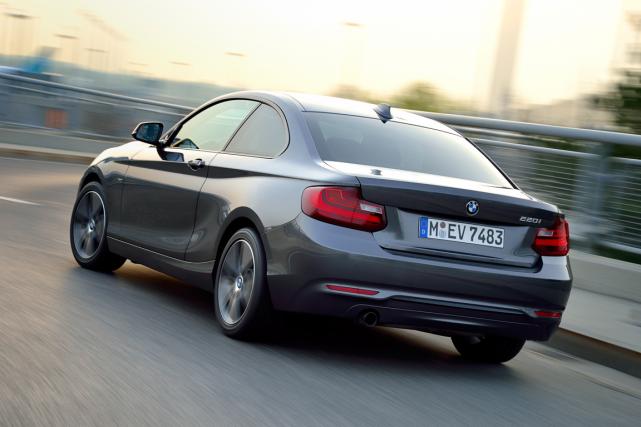 La BMW 220i Coupé fait forte impression dans... (Photo fournie par BMW)