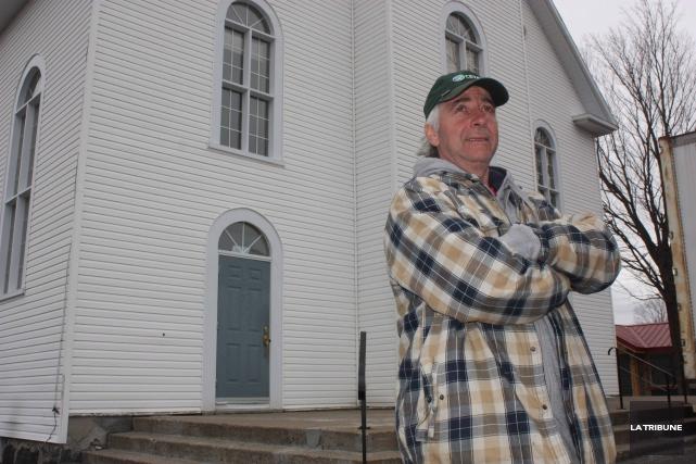 Le propriétaire de la Fromagerie du presbytère, Jean... (La Tribune, Yanick Poisson)