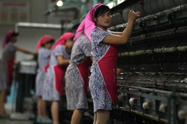 Les femmes ne gagnent aujourd'hui que l'équivalent du... (PHOTO ARCHIVES REUTERS)